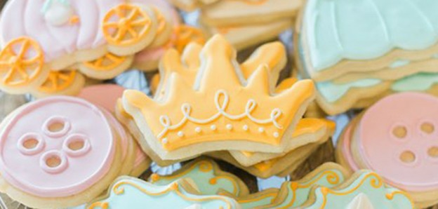 Cookies from a Cinderella Birthday Party via Kara's Party Ideas! KarasPartyIdeas.com (2)