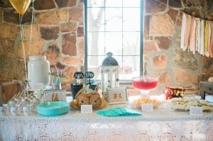 Food + Drink Table from a Cinderella Birthday Party via Kara's Party Ideas! KarasPartyIdeas.com (10)
