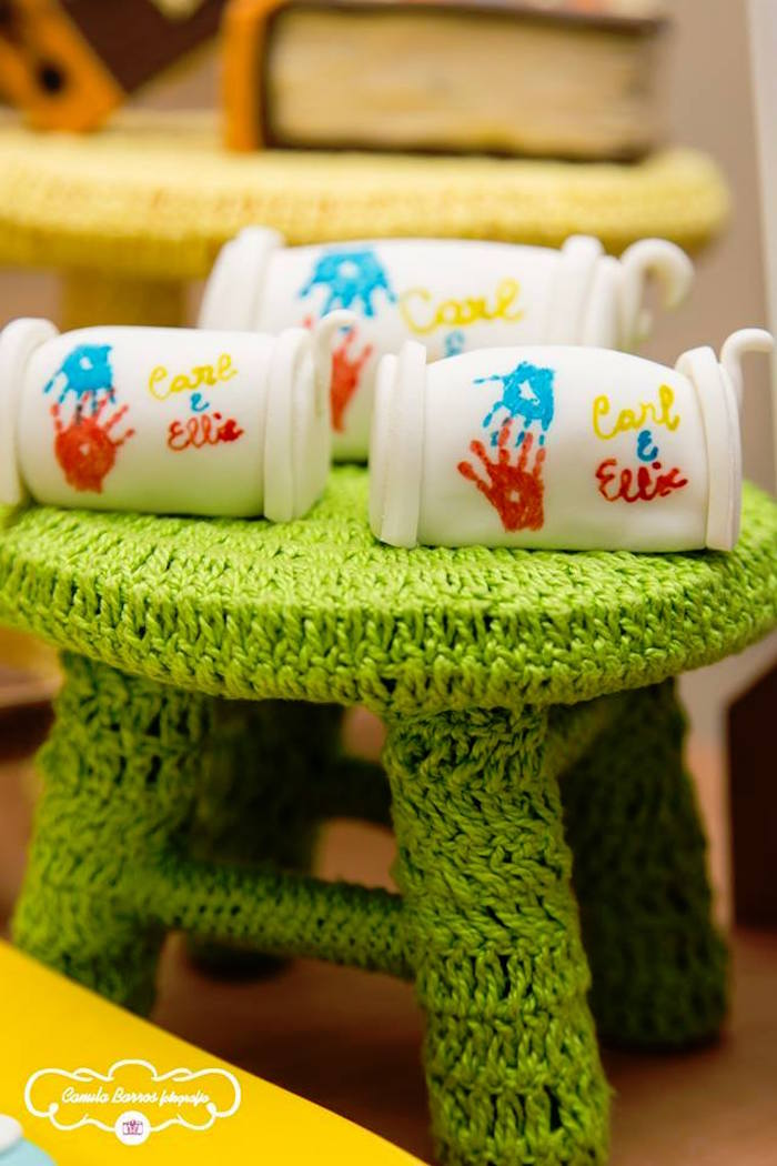 Mini Mailbox Cakes from a Disney's Up Inspired Birthday Party via Kara's Party Ideas! KarasPartyIdeas.com (8)