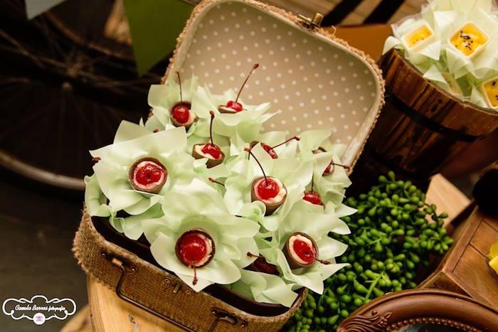 Cherry Chocolates from a Disney's Up Inspired Birthday Party via Kara's Party Ideas! KarasPartyIdeas.com (21)