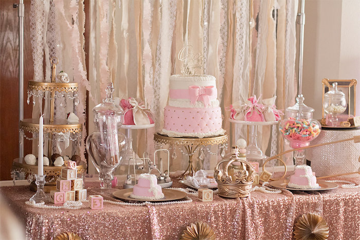 Karas Party Ideas Elegant Baby Shower