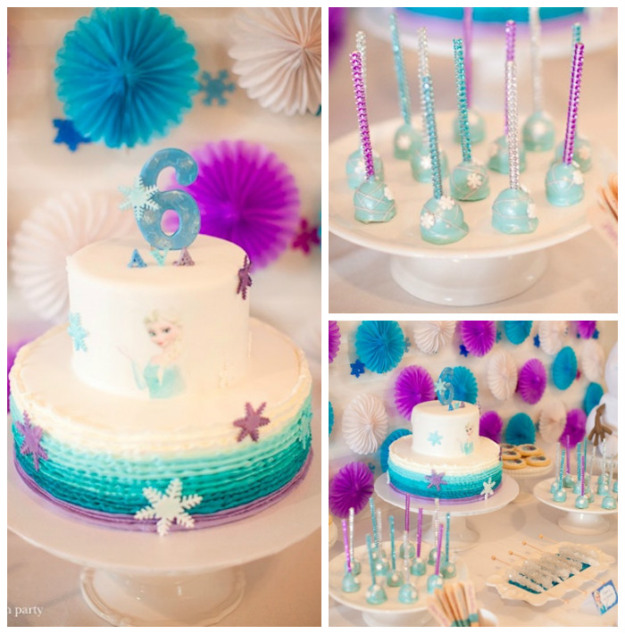 Frozen Birthday Party via Kara's Party Ideas | KarasPartyIdeas.com (3)