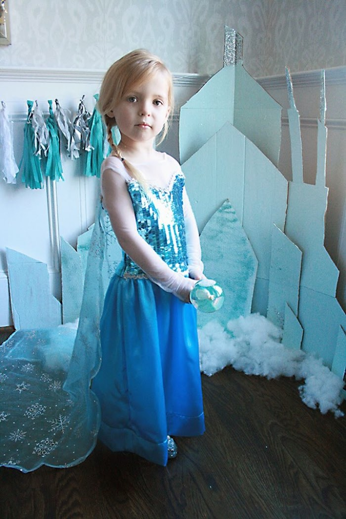 Birthday Girl from a Frozen Hot Chocolate Birthday Party via Kara's Party Ideas | KarasPartyIdeas.com | The Place for All Things Party! (14)