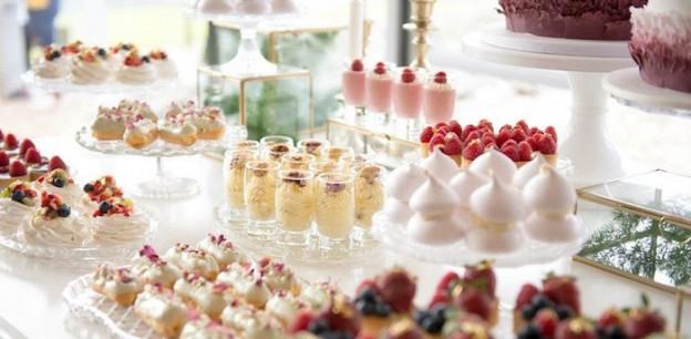 Table of Sweets from a Garden Ballerina Birthday Christening Party via Kara's Party Ideas | KarasPartyIdeas.com (1)