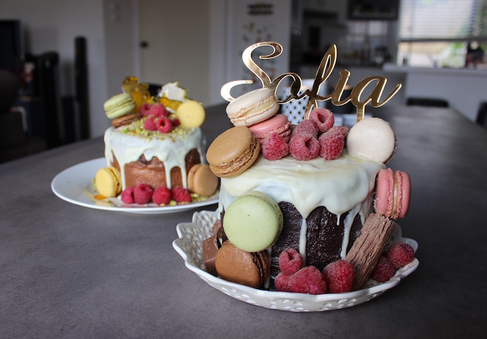 Kara's Party Ideas Cakes from a Glam Inspirational 13th ...