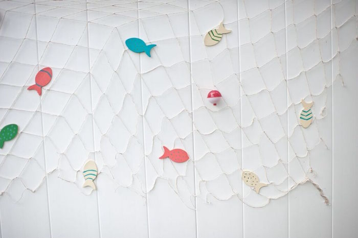 Net + Fish from a Gone Fishing Birthday Party via Kara's Party Ideas | KarasPartyIdeas.com (23)