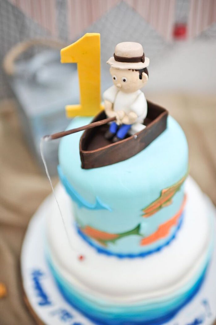 Gone Fishing Cake Images