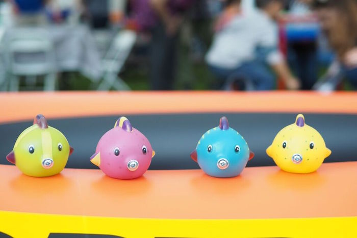 Toy Fish from a Gone Fishing Birthday Party via Kara's Party Ideas | KarasPartyIdeas.com (5)