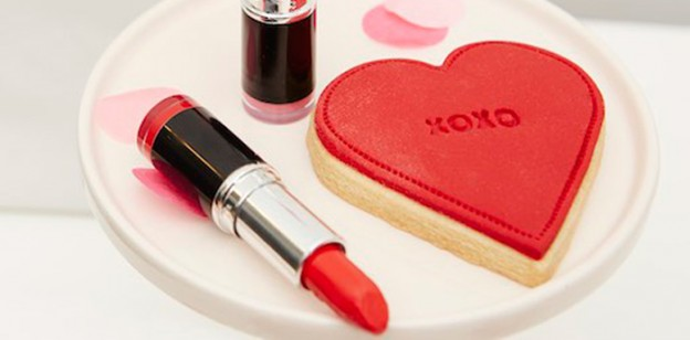 Lipstick + Cookie from a Kissing Booth Valentine's Day Party via Kara's Party Ideas | KarasPartyIdeas.com (4)