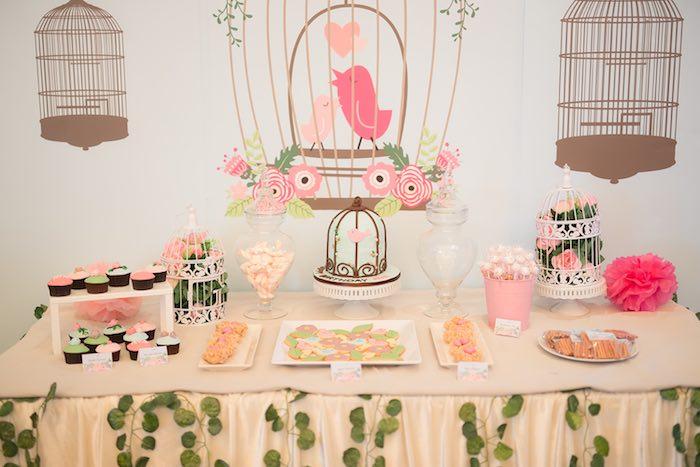 "Cutest little ""bird"" birthday party theme ~ Nature Favors |Little Bird Party Supplies"