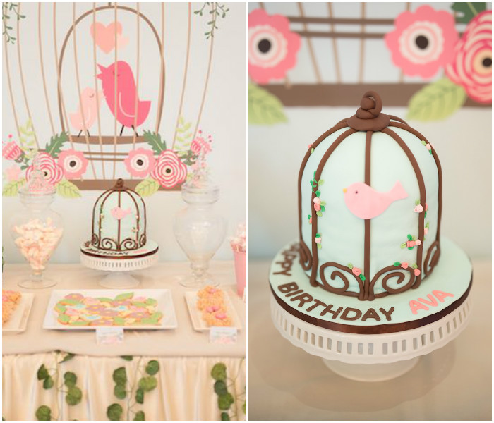 Little Bird Birthday Party via Kara's Party Ideas | KarasPartyIdeas.com (4)