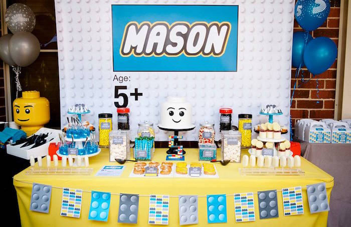 Karas Party Ideas Modern Lego Birthday Party Karas Party Ideas