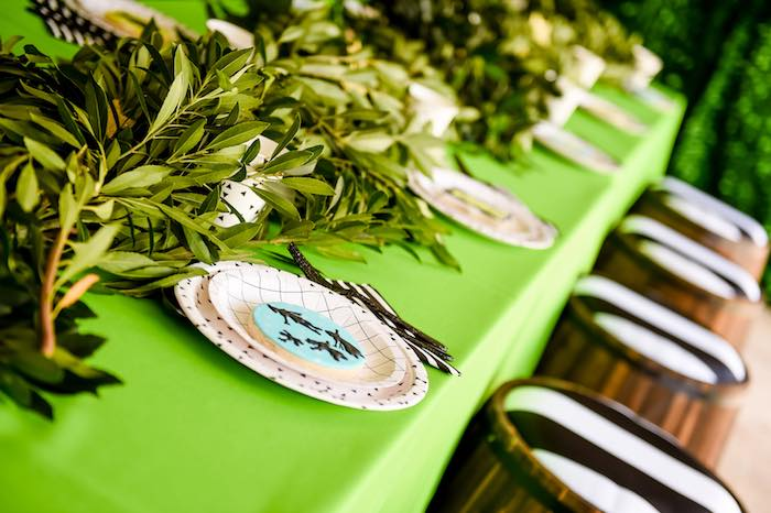 Dining Tablescape from a Modern Neverland Birthday Party via Kara's Party Ideas KarasPartyIdeas.com (33)