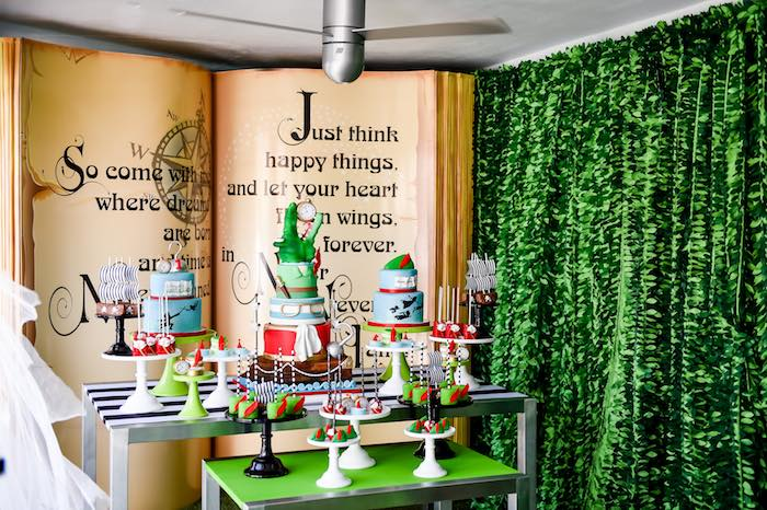 Kara S Party Ideas Mod And Hip Neverland Birthday Party