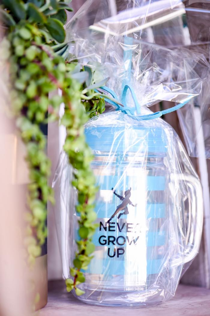 Cup Favors from a Modern Neverland Birthday Party via Kara's Party Ideas KarasPartyIdeas.com (62)