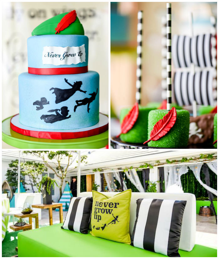 Modern Neverland Birthday Party via Kara's Party Ideas KarasPartyIdeas.com (3)