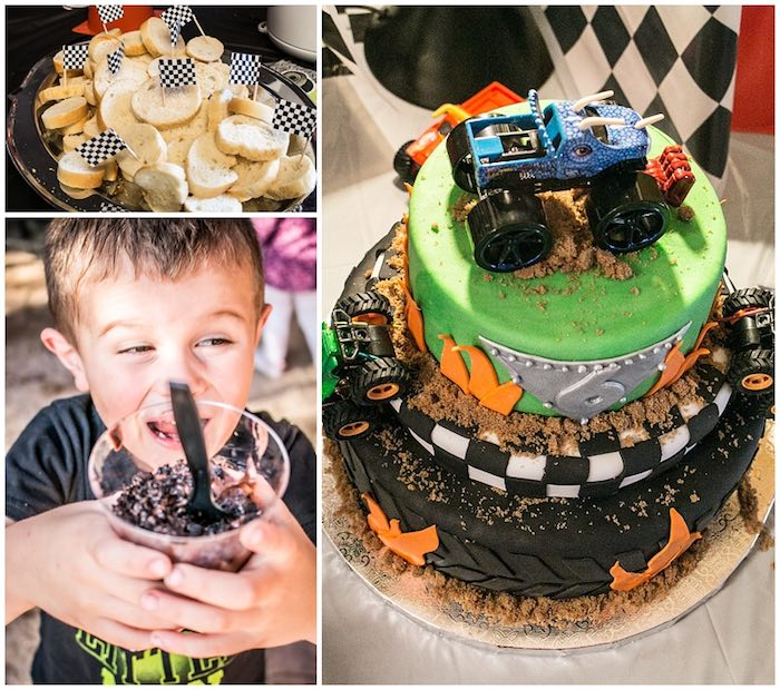 Kara S Party Ideas 187 Cake Collage From A Monster Jam