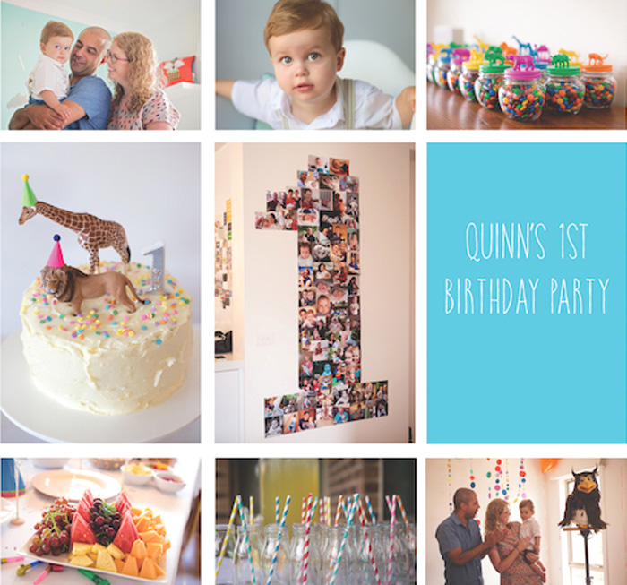 Party Animal 1st Birthday First Birthday Ideas: Kara's Party Ideas Party Animal 1st Birthday Party Via