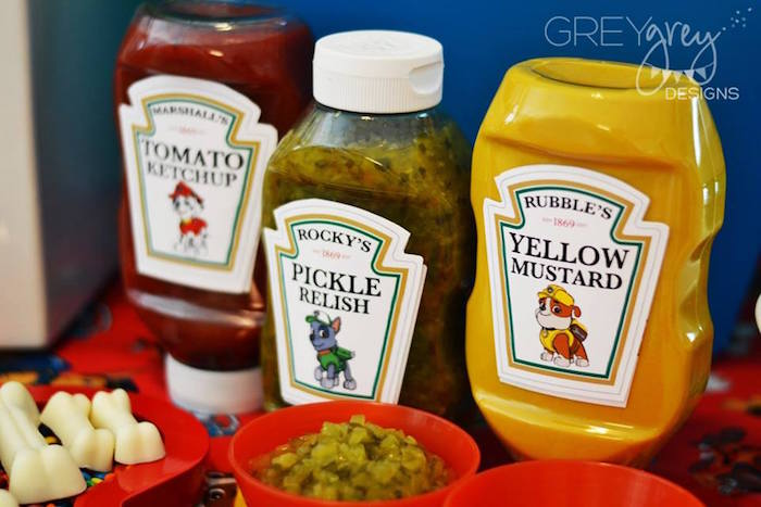 Relishes from a Paw Patrol Birthday Party via Kara's Party Ideas | KarasPartyIdeas.com (16)