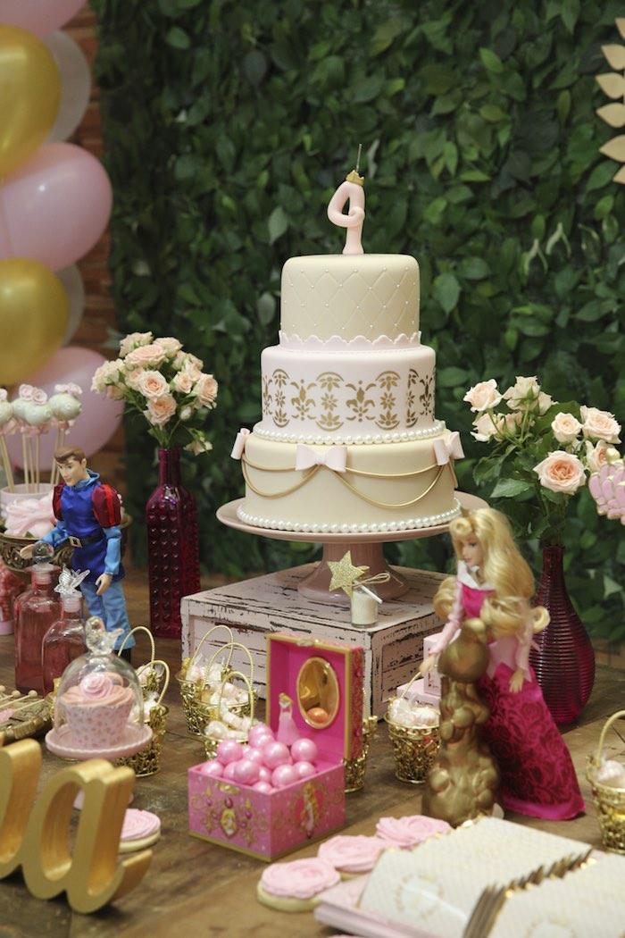 Kara S Party Ideas Princess Aurora Sleeping Beauty Birthday Party