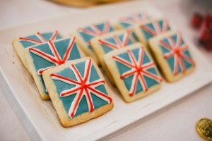 Union Jack Cookies from a Royal London 1st Birthday Party via Kara's Party Ideas | KarasPartyIdeas.com (18)