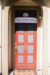 Telephone Booth Entrance from a Royal London 1st Birthday Party via Kara's Party Ideas | KarasPartyIdeas.com (11)