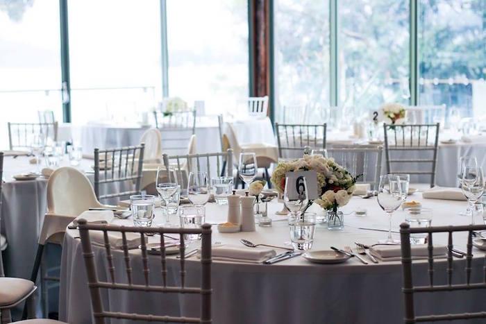 Guest Table from a Teddy Bear Forever Friends Birthday Party via Kara's Party Ideas KarasPartyIdeas.com (24)