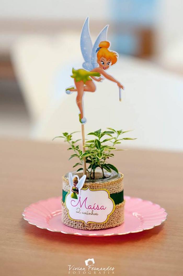 kara's party ideas tinkerbell fairy garden birthday party  kara's, Garden idea