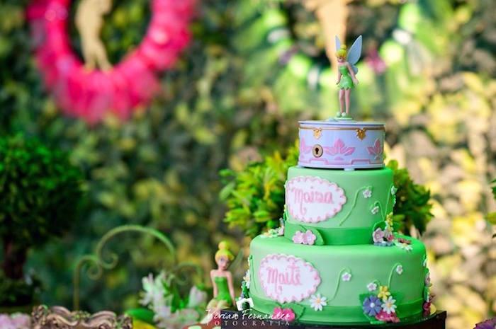 Kara S Party Ideas Tinkerbell Fairy Garden Birthday Party