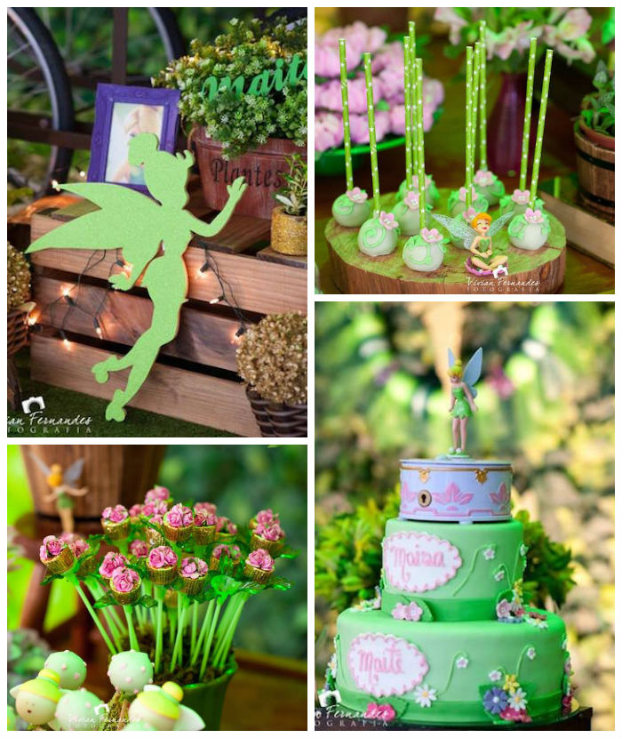 Kara's Party Ideas Tinkerbell Fairy Garden Birthday Party ...