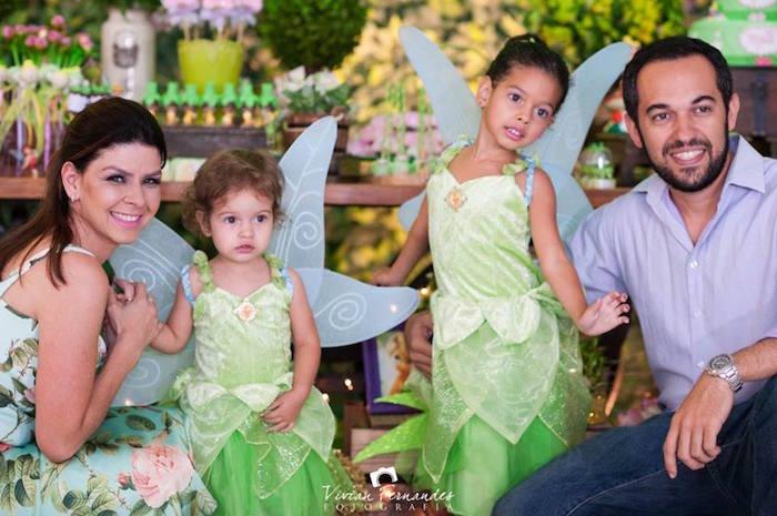 Little Fairies + Parents from a Tinkerbell Fairy Garden Birthday Party via Kara's Party Ideas KarasPartyIdeas.com (22)