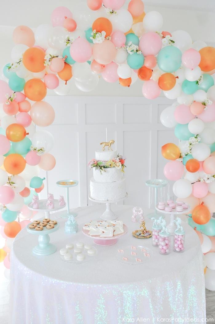 Kara's Party Ideas Dreamy Unicorn Birthday Party Kara's Party Ideas