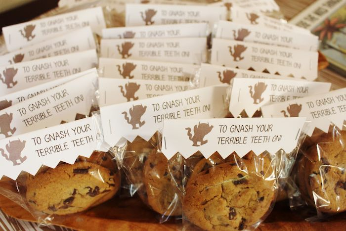Cookie Favors from a Where the Wild Things Are Birthday Party via Kara's Party Ideas | KarasPartyIdeas.com (20)