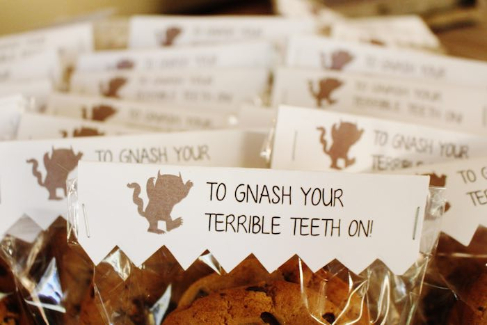 Cookie Favors from a Where the Wild Things Are Birthday Party via Kara's Party Ideas | KarasPartyIdeas.com (19)