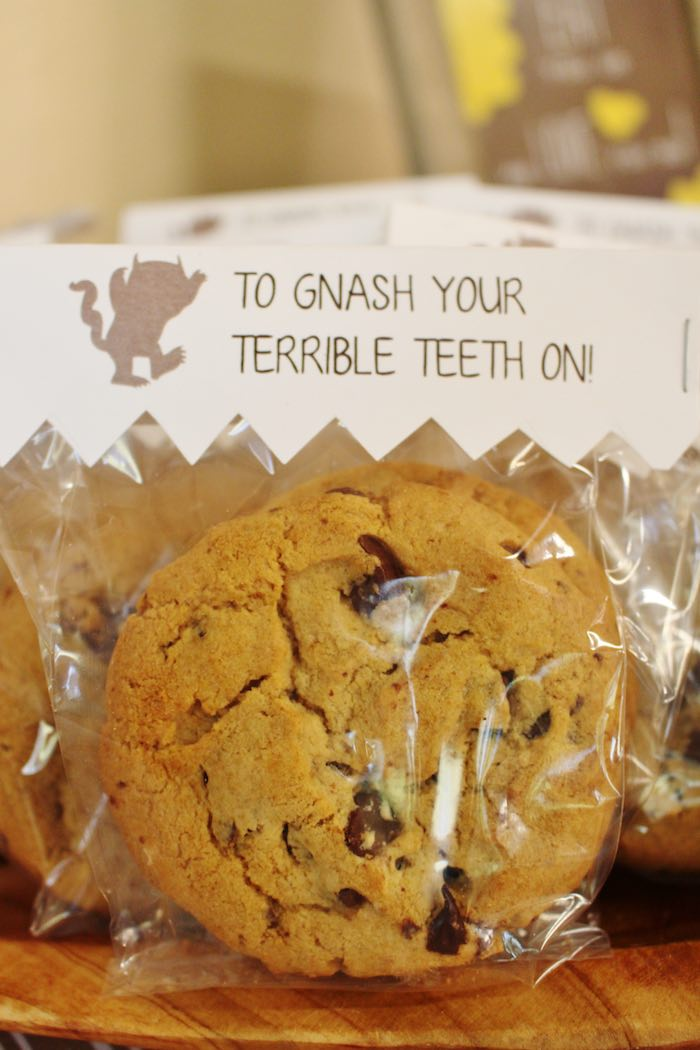 Cookie Favor from a Where the Wild Things Are Birthday Party via Kara's Party Ideas | KarasPartyIdeas.com (18)