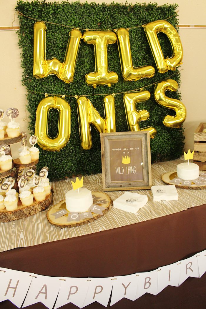 Karas Party Ideas Where The Wild Things Are Birthday Party Karas