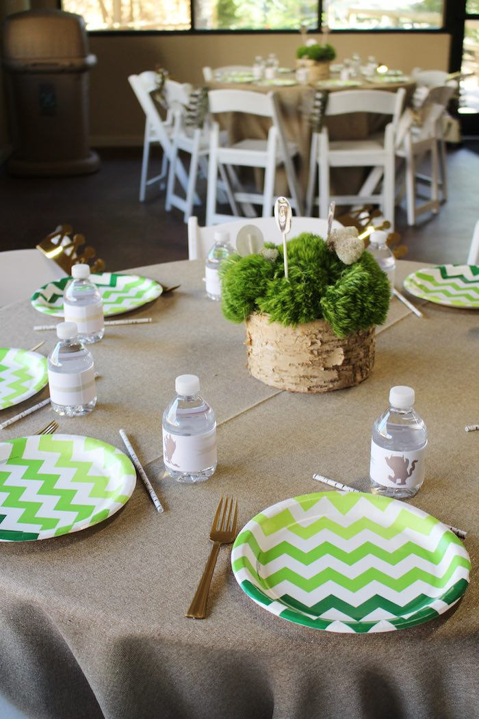 Dining Tabletop from a Where the Wild Things Are Birthday Party via Kara's Party Ideas | KarasPartyIdeas.com (9)