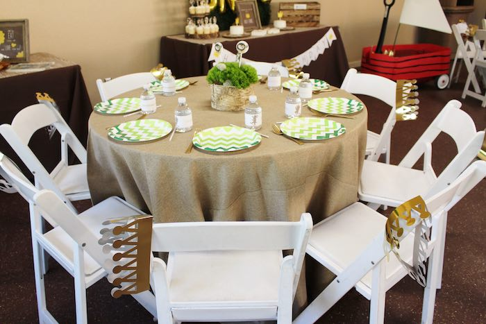 Dining Table from a Where the Wild Things Are Birthday Party via Kara's Party Ideas | KarasPartyIdeas.com (7)