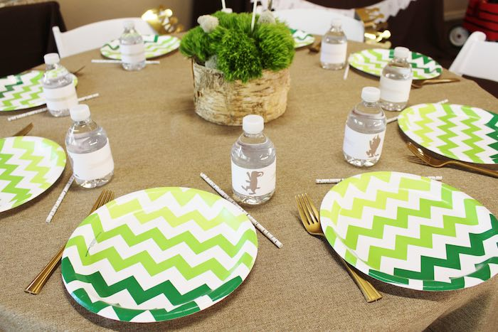 Guest Tabletop from a Where the Wild Things Are Birthday Party via Kara's Party Ideas | KarasPartyIdeas.com (6)