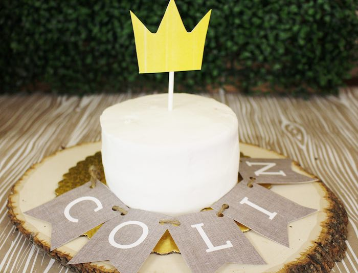 Cake from a Where the Wild Things Are Birthday Party via Kara's Party Ideas | KarasPartyIdeas.com (29)