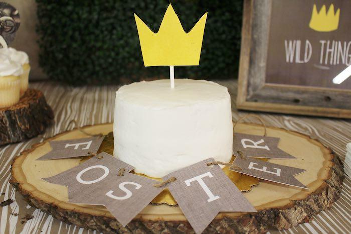 Cake from a Where the Wild Things Are Birthday Party via Kara's Party Ideas | KarasPartyIdeas.com (28)