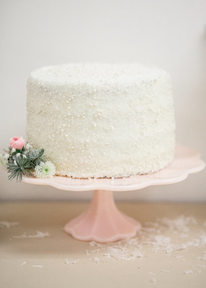Sugar Crystal Coated Cake from a Winter Wonderland Birthday Party via Kara's Party Ideas KarasPartyIdeas.com (25)