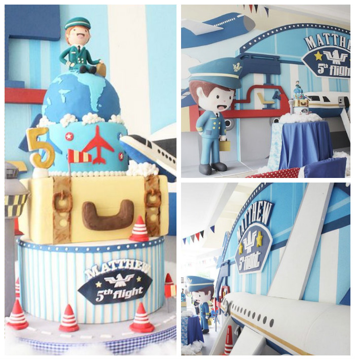 Airplane Birthday Party via Kara's Party Ideas | KarasPartyIdeas.com (2)