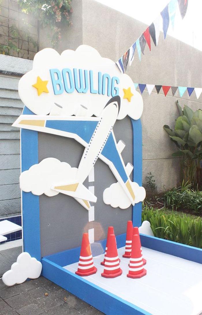 Karas Party Ideas Airplane 5th Birthday Party  Karas Party Ideas