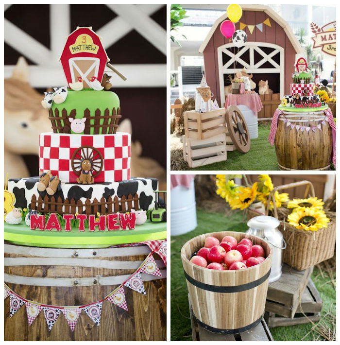 Barnyard Birthday Party Via Karas Ideas KarasPartyIdeas 2