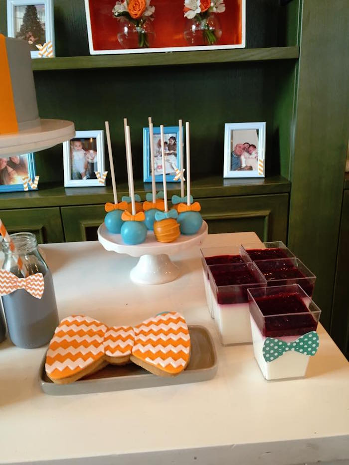 Sweets from a Bow Tie Birthday Party via Kara's Party Ideas | KarasPartyIdeas.com (14)