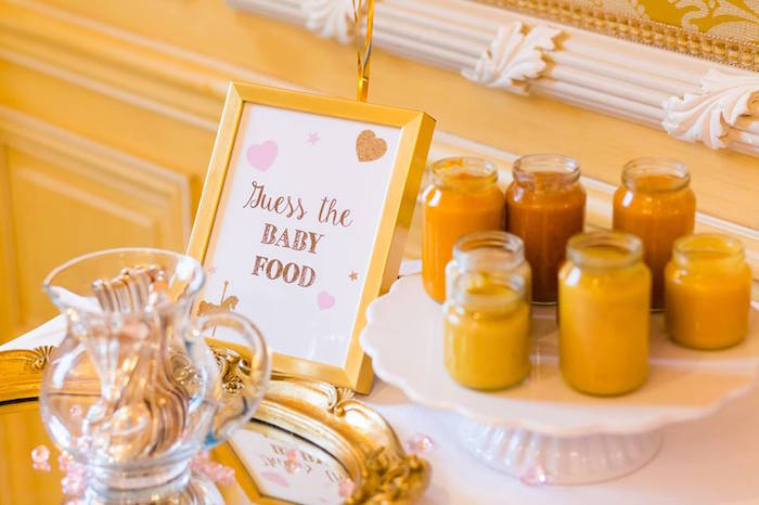 Guess the Baby Food Game from a Carousel Baby Shower via Kara's Party Ideas | KarasPartyIdeas.com The Place for All Things Party! (11)
