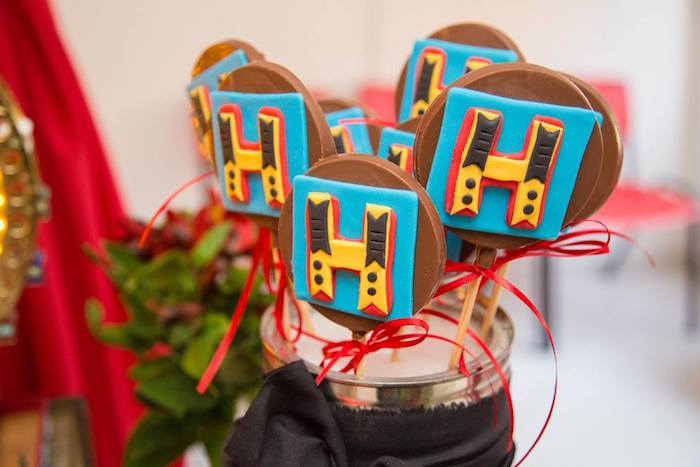 Custom Chocolate Lollipops from a Circus Carnival Baby Shower via Kara's Party Ideas KarasPartyIdeas.com (28)