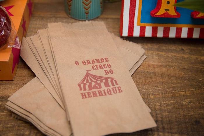 Favor Sacks from a Circus Carnival Baby Shower via Kara's Party Ideas KarasPartyIdeas.com (26)