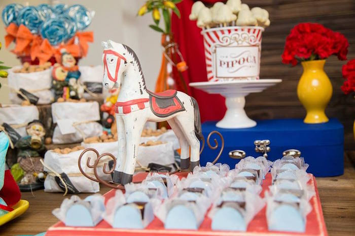 Sweets + Decor from a Circus Carnival Baby Shower via Kara's Party Ideas KarasPartyIdeas.com (35)